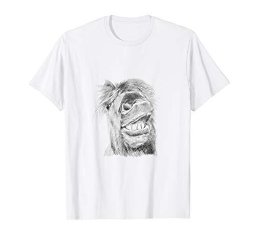 Süßes Isländer Pony | Flähmendes Isi Pferd T-Shirt