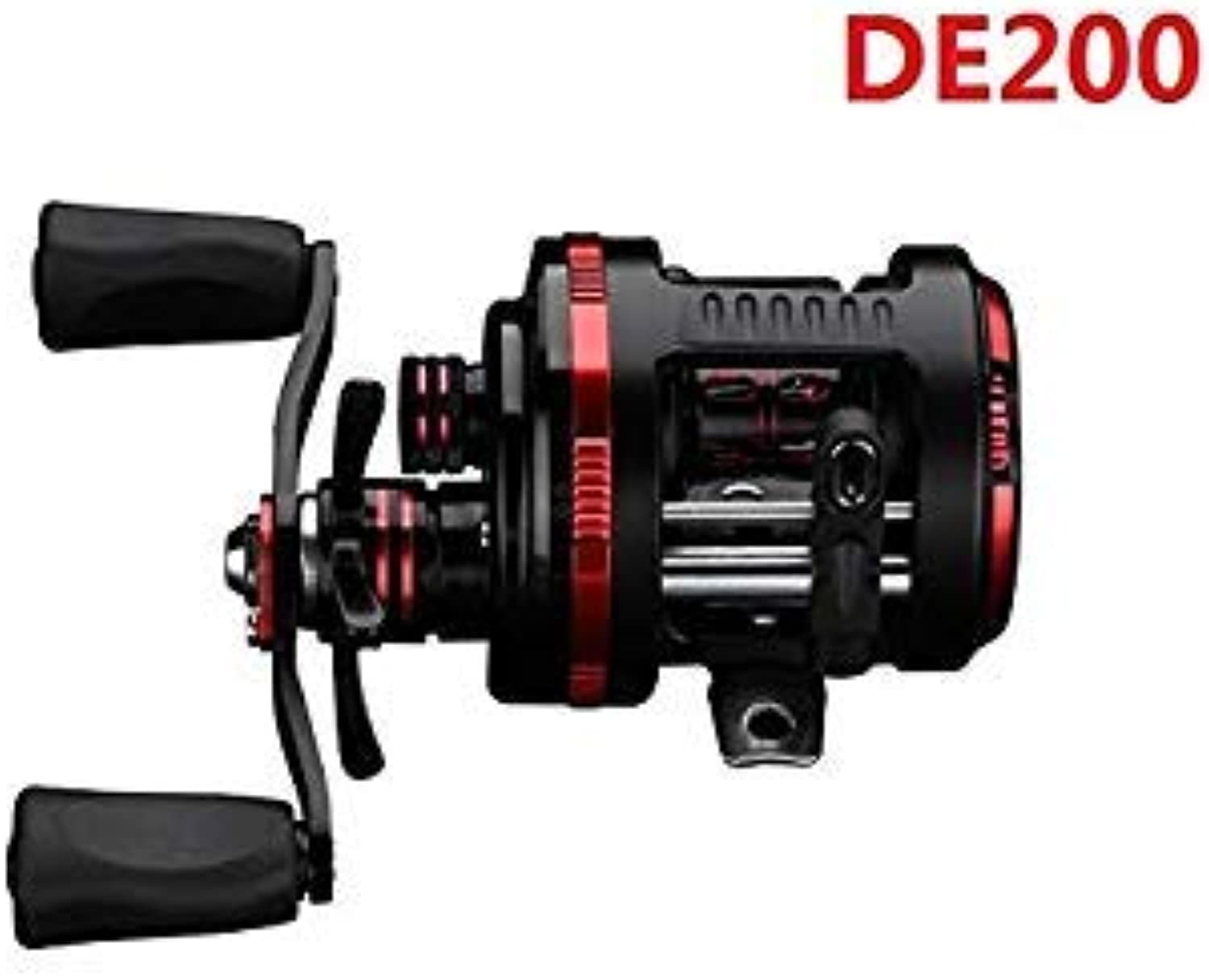 GEOPONICS LumiParty DE Spinning Reel - CarbonDragGears, Stainless Steel Components color DE 200 Bearing Quantity 11 Use Mode Left