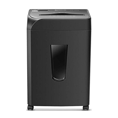 Affordable Atten Single Entry Office Commercial Shredder, 8-Layer High Security Micro-Cut Shredded Paper with Pull Basket, 2 10mm Granular Paper, 17L