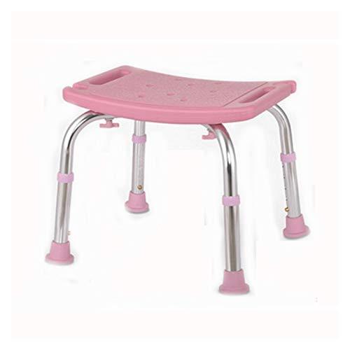 XUANMAI Taburete de ducha, silla de baño, silla de ducha, taburete antideslizante para mujer embarazada, ajustable, silla de baño para personas mayores (color: B)