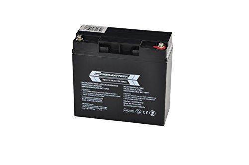 12V 18Ah RPower VDS Batterie für Gefahrenmeldeanlagen (BMA, EMA, ÜMA, ELA)