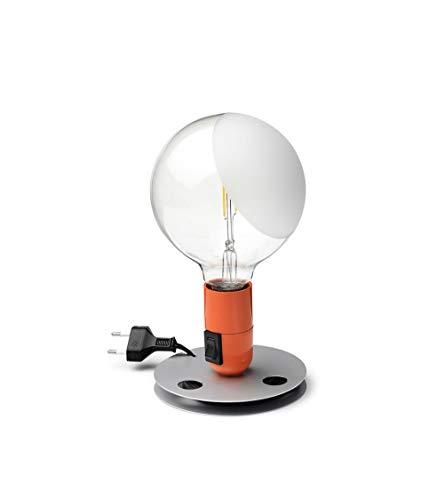 Flos Lampadina LED 2W E27 2700K Tischleuchte Orange F3300075 Design Castiglioni 1972