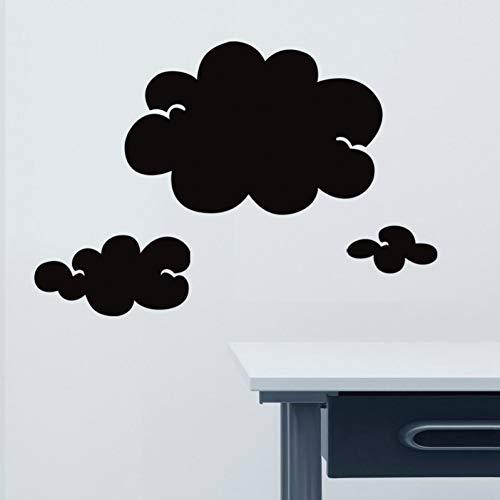 Taoyue Decoratieve wolk tafel kunst wandsticker decoratie afneembaar schilderij wandbehang decor afneembaar