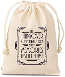 Set of 10 Bags hangovers only last a day wedding favor kit hangovers only last a day memories product image