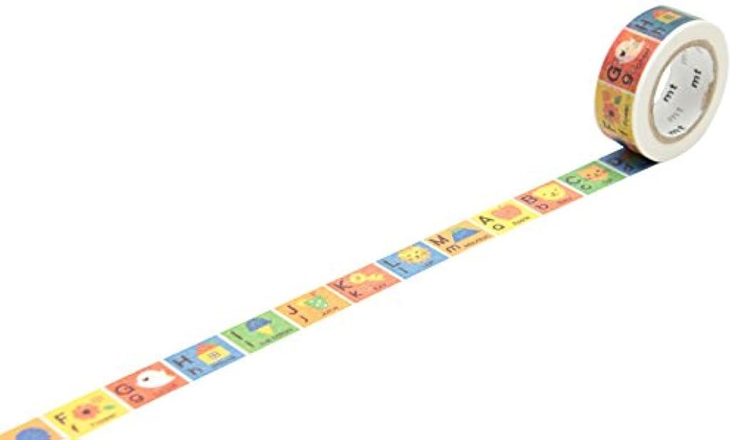 MT MT01KID13Z Mt Washi Masking Tape for Kids - Alphabet A-M