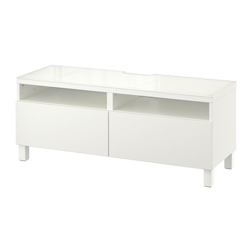Ikea 18202.292617.146 - Mueble de TV con cajones, Color Blanco