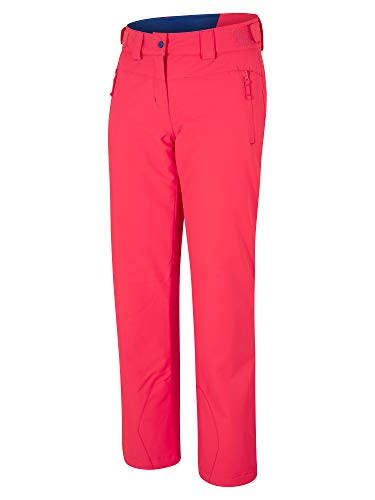 Ziener Damen PANJA Lady Pant Ski Snowboard-Hose/Atmungsaktiv, Wasserdicht, Fiery red, 46