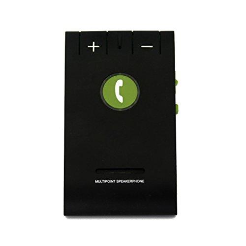 PIXNOR–Inalámbrico Bluetooth 4.0Multipoint Sun Visor coche auto vehículo Altavoz con Clip para teléfonos móviles o Tablet PC–Manos libres Manos libres