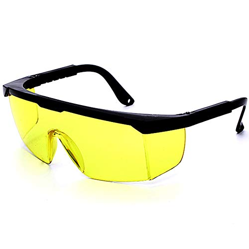 Schutzbrille,Lasersichtbrille für Lichtschutzbrille für die HPL/IPL Haarentfernung, Einstellbar IPL Haarentfernungsgerät Brille Abgedeckt