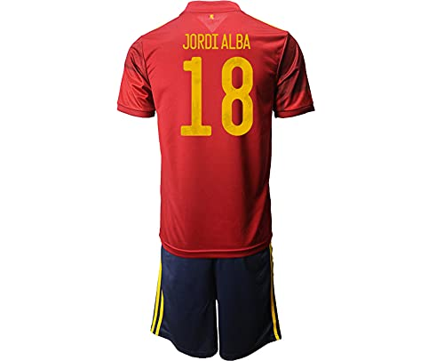 SHKHJBH Maglia da Calcio della Coppa dei Campioni della Spagna 2021 per la...