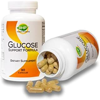 Natural Blood Sugar Support Supplement with Biotin, Chromium & More. 90 Capsules