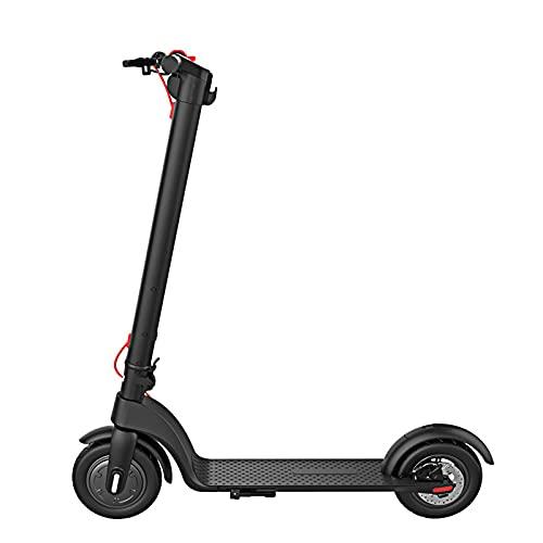 Bestting Scooter Eléctrico X7, Scooter Eléctrico Plegable con Pantalla LCD De Alta Definición, Frenos Triples Delanteros Y Traseros Plegables Rápidos En Un Solo Paso, Velocidad De hasta 10-15 Km/H