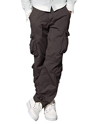Match 3357 - Pantalones Cargo para Hombre(Caqui Oscuro (3357 Dark Khaki),38W x...