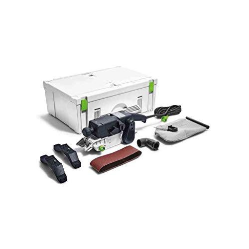 Festool Bandschleifer BS75E-Plus Herstellernr. 575769, 1010 W, Schwarz/Grün