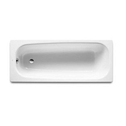 ROCA - Bañera Acero Contesa 1400 mm. Blanco Cubeta sola, perforada 2 agujeros D30 mm Ref A2361K7000