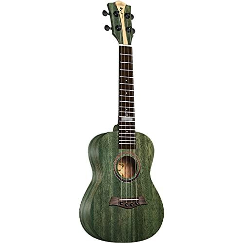 YHRJ Ukelele para Principiantes, Guitarra pequeña de Caoba de una Sola Placa de 23/26 Pulgadas, Instrumento de Cuerda portátil con Estuche (Color : C, Size : 26 Inch)