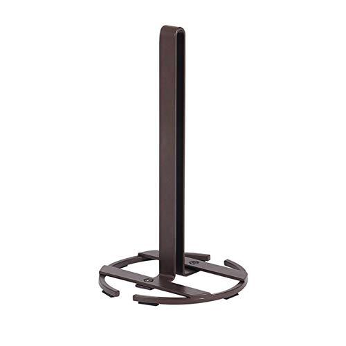 Rouleau de Cuisine Porte-Serviettes Porte-Serviettes de Salle de Bain Toile de Toilette Stand Stand Nettobile Rack Accessoires de Table Accessoires de Rangement (Color : Brown)