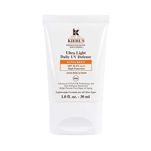 Kiehl's Ultra Light Daily UV Defense SPF 50 with Pollution Sonnencreme, 30 ml