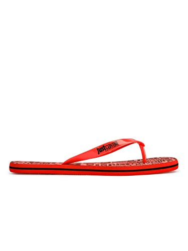JUST CAVALLI Beachwear Infradito E94 Rosso EU 42