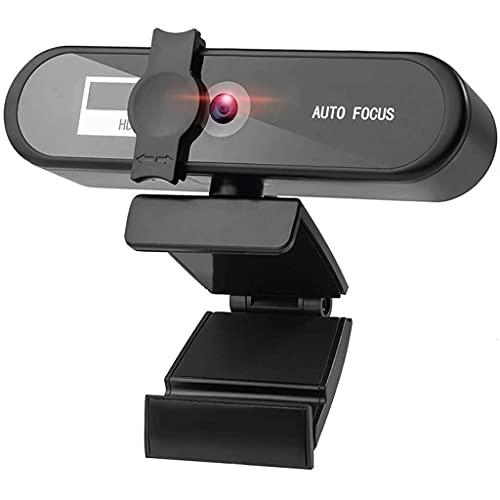 RYSF 2K 4K Webcam Conference PC Webcam Autofocus USB Web Camera Laptop Desktop para Office Meeting Home con Mic 1080P Full HD Web CAM (Size : 4K Webcam)