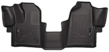 Husky Liners 18771 Fits 2015-19 Ford Transit-150 2015-19 Ford Transit-250 2015-19 Ford Transit-350 Weatherbeater Front Floor Mats Black