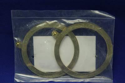 三桂製作所 電材電装部品 アース端子付きワッシャ 真鍮製 厚鋼電線管おねじ用 RWEG70