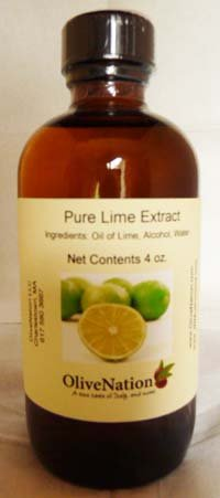 OliveNation Pure Lime Extract for Baking, Tart Citrus Flavor for Cakes, Cookies, Icing, Filling, Terpeneless, PG Free, Non-GMO, Gluten Free, Kosher, Vegan - 16 ounces