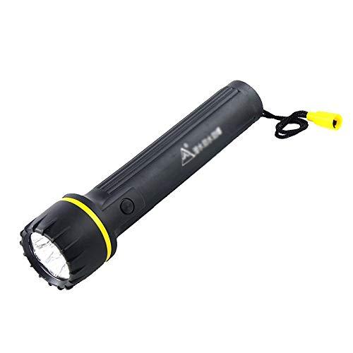Luz de emergencia al aire libre impermeable LED linterna de luz fuerte impermeable tienda de búsqueda foco impermeable foco USB recargable lámpara funciona con pilas para senderismo Pesca