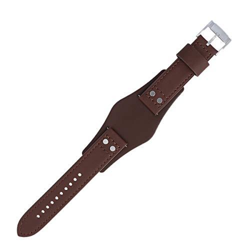 Fossil Uhrenarmband 22mm Leder Braun - CH-2890 | LB-CH2890