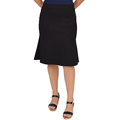 Stretch is Comfort Women's Flared Trumpet Skirt