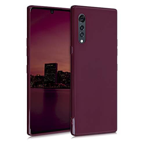 kwmobile Hülle kompatibel mit LG Velvet - Hülle Handyhülle - Handy Hülle in Bordeaux Violett