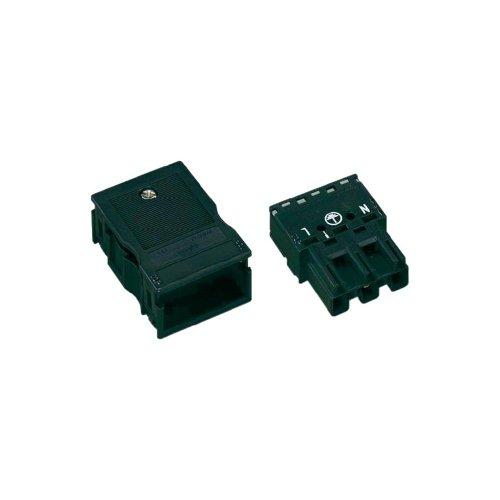 WAGO Netz-Steckverbinder WINSTA MIDI Serie (Netzsteckverbinder) WINSTA MIDI Stecker, gerade Gesamtpolzahl: 2 + PE 25 A