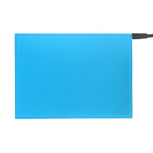 TOOGOO 105Mm X 148Mm EL Panel Elektro Lumineszenz Folie Neon Folie + Aktor 12V Blau