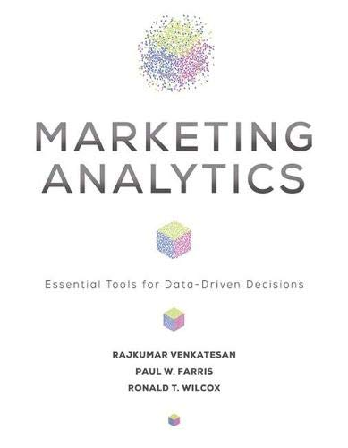 Marketing Analytics: Essential Tools for Data-Driven Decisions Front Cover