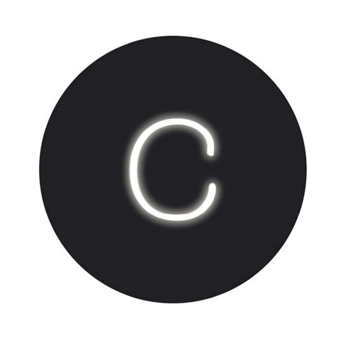 SELETTI 'Lampe néon Neon Font cm moulé. 14 H. 18 – C