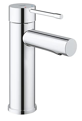 Grohe Essence - Grifo de lavabo de cuerpo liso 1/2', tamaño S, cartucho cerámico de 28mm, EcoJoy, de fácil instalación Ref. 34294001)