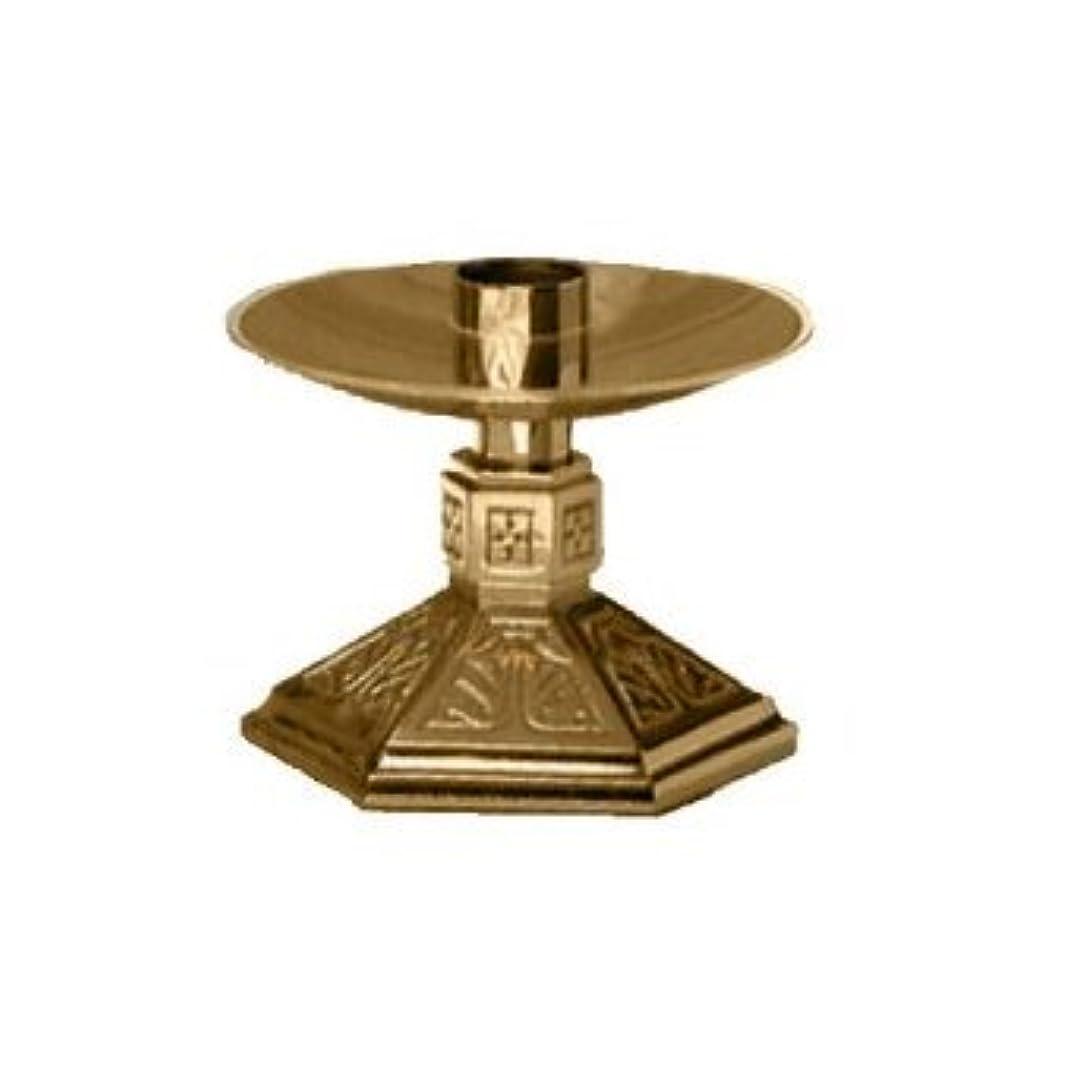 自伝青安いですAltar Candlestick Style: Satin Bronze 242-L-SBZ