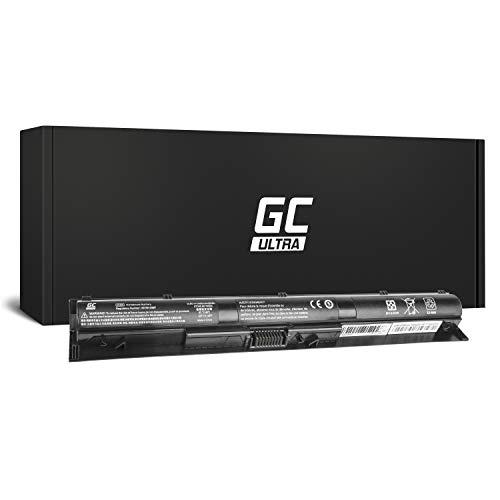 Green Cell Ultra Serie KI04 Batería para HP Pavilion 14-AB 15-AB 15-AK 17-G Ordenador (Las Celdas Originales Panasonic, 3400mAh, Negro)