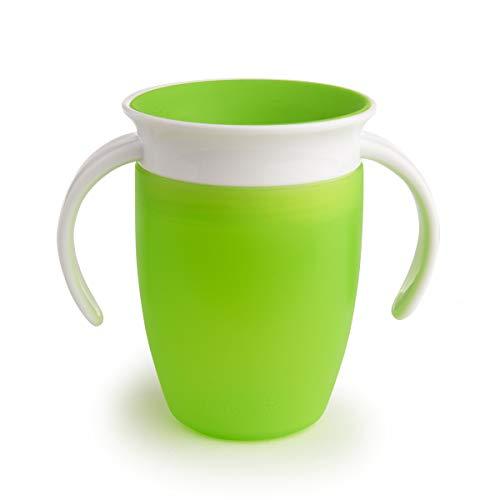 Munchkin Miracle 360° - Vaso antiderrames entrenamiento 207 ml (verde)