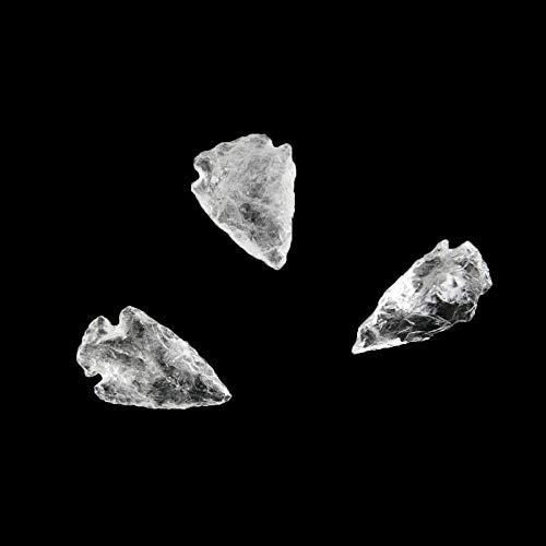 Punta de Flecha de Cuarzo Minerales y Cristales para curación, Belleza energética, Meditacion, Medicina Alternativa, Amuletos Espirituales