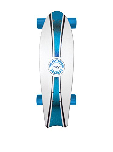 Sport One Monopatín Skateboard Fishtail Azul