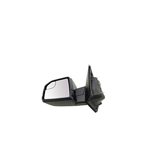 JUND Mirror Power Textured Black Driver Side Left LH for 2015-2020 F-150 Crew Cab Pickup 2015-2020 F-150 Extended Cab Pickup 2015-2020 F-150 Standard Cab Pickup