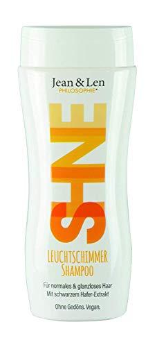 Jean & Len Shampoo Leuchtschimmer, mit schwarzem Hafer extrakt, für strahlend leuchtendes Haar (1 x 230 ml)