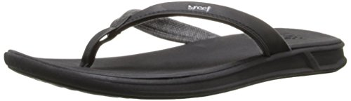 Reef Damen Rover Catch Sandalen Flipflops, Schwarz(Black), 37.5 EU
