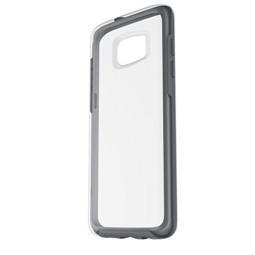 Otterbox Symmetry Clear - Funda para Samsung Galaxy S7 Edge, Color Gris Cristal