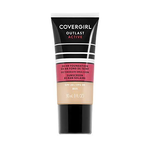 Covergirl Outlast Active Foundation, Ivory, 1 Ounce