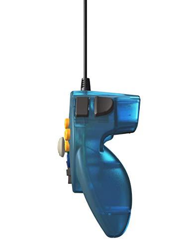 Retro-Bit Tribute 64 for Nintendo 64 - Ocean Blue