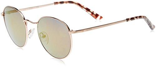 Guess GF6011_28Z Gafas de sol, Dorado (Oro/havana), 48 para Mujer