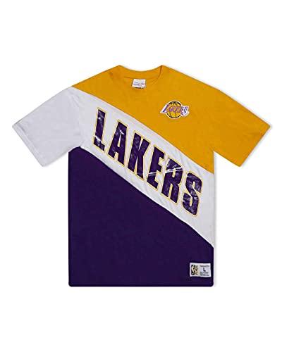 Mitchell & Ness NBA Play by Play - Camiseta de manga corta...