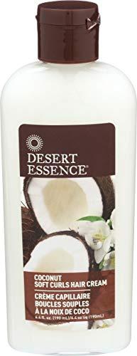 Desert Essence Kokosnuss Schein Weiche Locken Haarcreme 190 ml